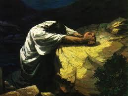 A man deep in prayer