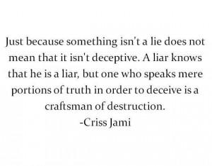 Criss Jami quote