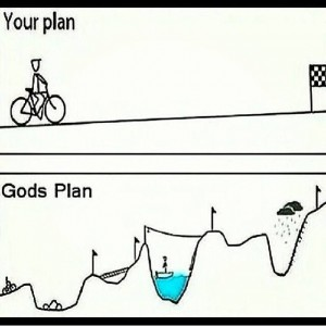Your plan v. Gods' plan