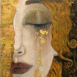 Tears of Gold painting