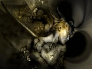 Capricorn painting